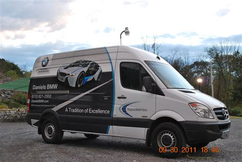 bmw sprinter bmw sprinter mercedes cargo wrap pass side
