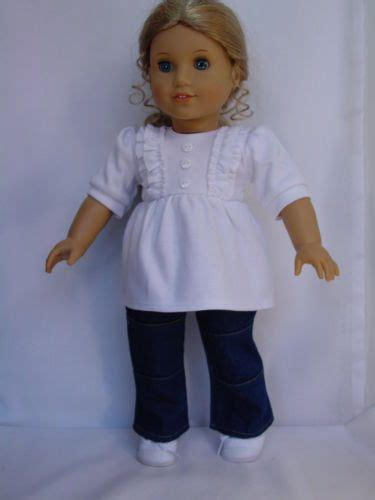 Denim Babby Doll 17 best images about american doll flared on doll fleece jackets