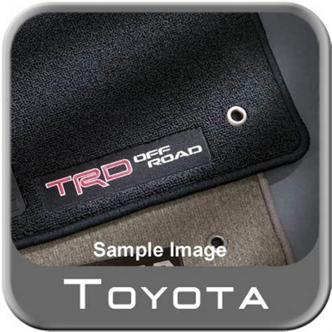 2007 2011 toyota tacoma carpeted trd floor mats light