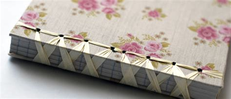Handmade Notebook Tutorial - handmade notebook may arts wholesale ribbon company