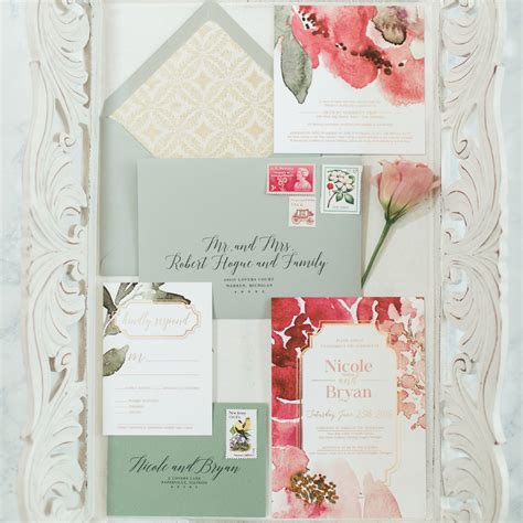 Wedding Invitations New Jersey by Weddings Chelsea B Design Studio