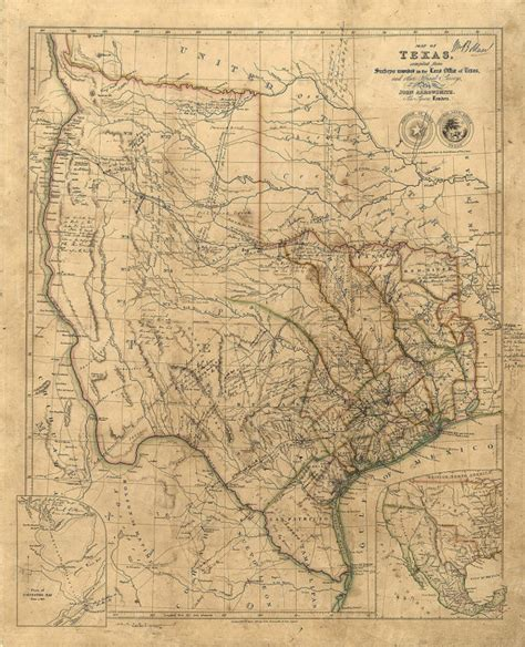 antique maps of texas texas wall map 1841 historical texas map antique
