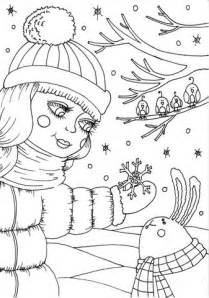 february color february free coloring pages