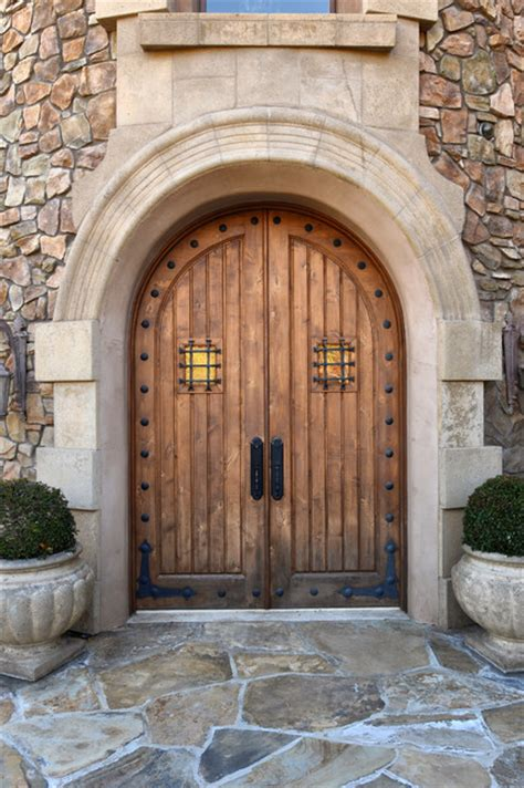 Tuscan Front Doors Tuscan Mediterranean Exterior San Diego By Elevation Architectural Studios
