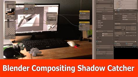 tutorial blender compositing blender shadow catcher tutorial youtube