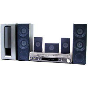 sanyo dwm 3900 dvd vcr 5 1 300 watts home theater system