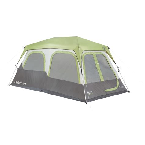 cabin tents coleman tent instant cabin 8 person w fly signature 14x8x6 4