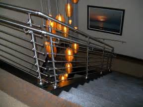 Brass Handrail Wood Stair No Sing Tile Newhairstylesformen2014 Com