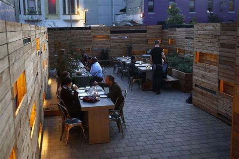 Best Patios In San Francisco by Favorite Bay Area Outdoor Dining Options Sfgate