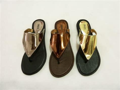 Sandal Jepit Isrin Isran cami metal okada grosir sandal isrin isran dan okada