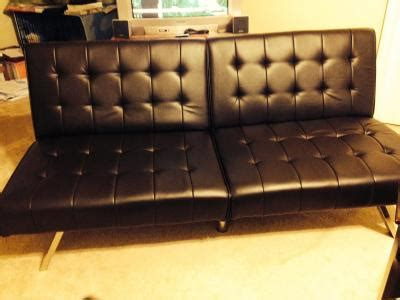 Mainstays Faux Leather Futon by Mainstays Faux Leather Futon Roselawnlutheran