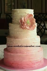 Starting A Cake Decorating Business From Home a cake to remember va pink ombre buttercream wedding cake