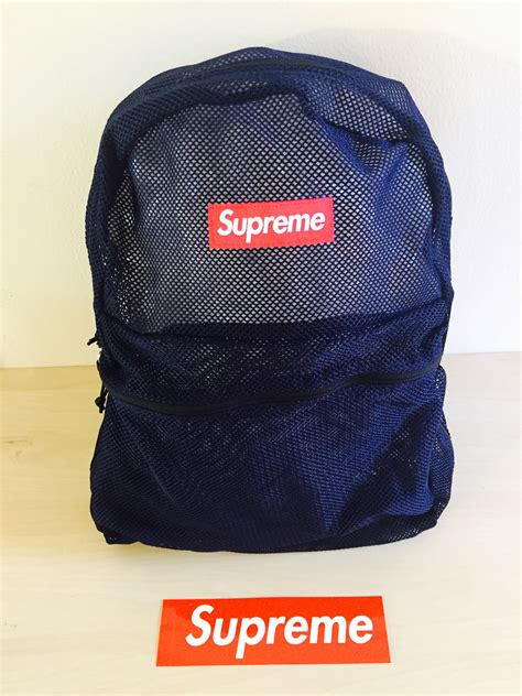 sold out supreme sold out products in 2016 new supreme mesh backpack buyma
