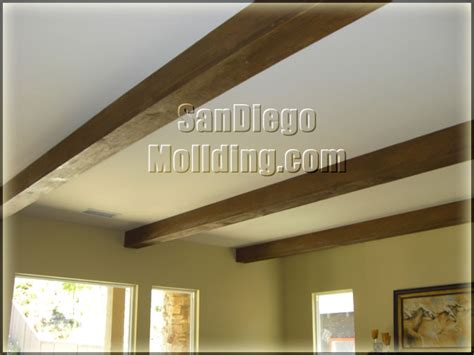 Wood Ceiling Molding by San Diego Molding Baseboard
