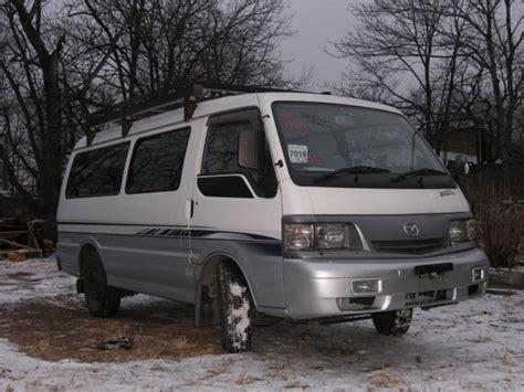 mazda car van 2002 mazda bongo brawny van pictures