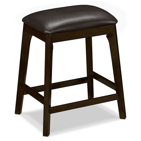 bar stool height for counter american signature furniture mystic dining room backless