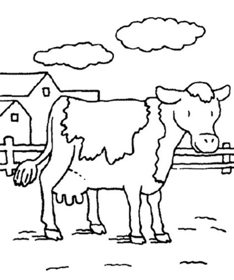 cow farm coloring page 237 best farmhousefresh images on pinterest farms