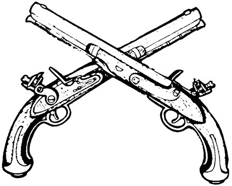 crossed guns clipart panda free clipart images