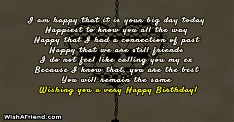 Should I Wish My Ex A Happy Birthday Birthday Messages For Ex Boyfriend