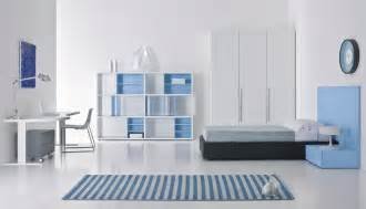 Blue And White Contemporary Bedroom Design Ideas Blue White Bedroom Interior Stylehomes Net