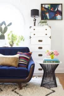 home decor trend velvet cocorosa living dining 25 stunning living rooms with blue velvet sofas