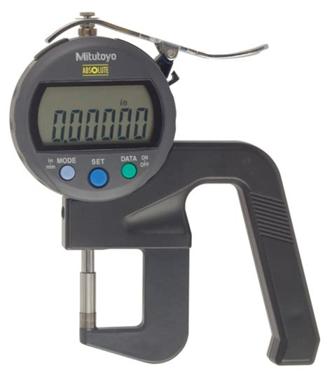 Thickness Digital Thickness Gages Series 547 Flat Anvil Type Digital Type