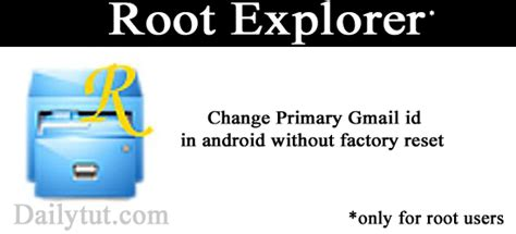reset android device id change primary email in android mobile phone