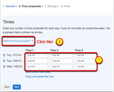 doodle poll time zone support doodle simplifies scheduling podfeet podcasts