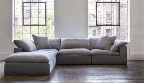 feather sectional sofa feather standard fabric footstool darlings of chelsea