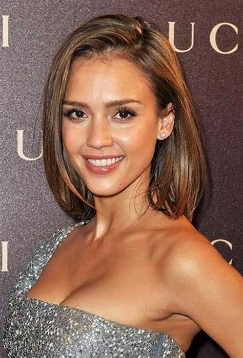 bob haircut jessica alba 15 best bob hairstyles for long faces bob hairstyles