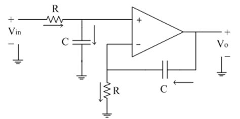 rc integrator circuit using operational lifier non inverting integrator electronics tutorial