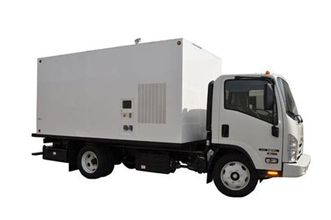 kw box truck ebb 80kw box truck package bed bug removal equipment