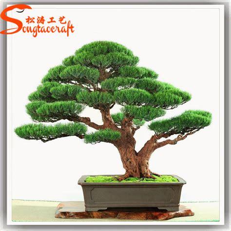 life size cheap artificial big trees landscape plastic new design artificial pine tree japanese bonsai trees