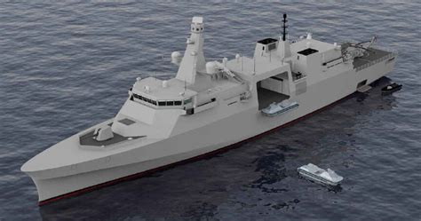 Cutter Set Canon Mk 1500 Mk 2500 opc derived frigate designed for the royal navy proposed