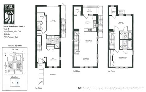oggi townhomes floor plans