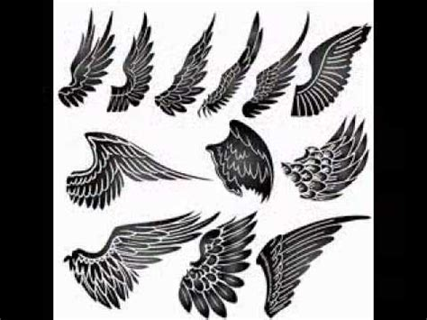 angel wing tattoo pictures youtube