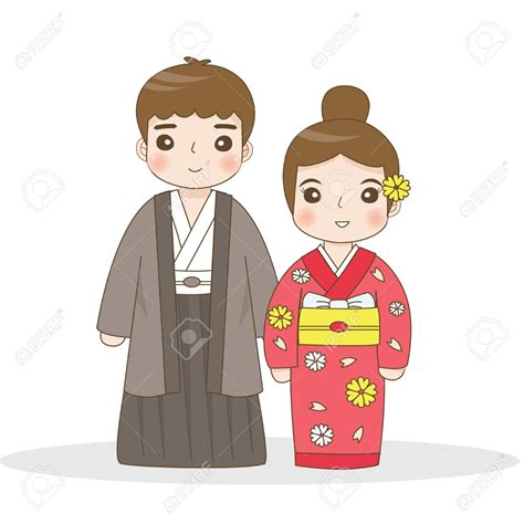 Japanese Wedding Clip japanese clipart tradition pencil and in color japanese