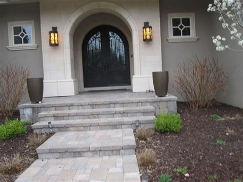 Front Door Step Ideas Front Porch Walkways Porch Steps Cherry Colorado Designs And Ideas For A Front