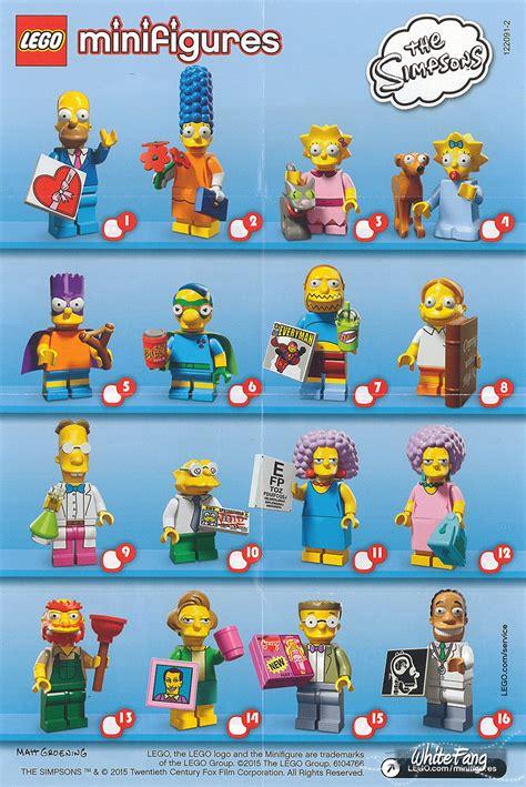 lego the simpsons minifigures 71009 12 3 加入官方圖 收料 報料