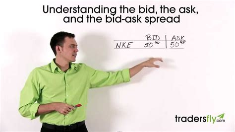 bid stock basics of the bid the ask and the bid ask spread in