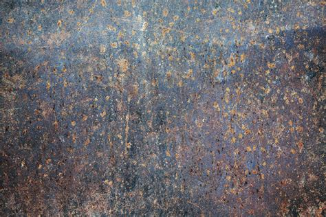 rusted steel plate texture