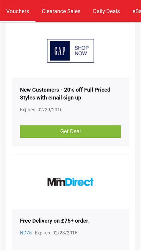 discount vouchers uk discount vouchers and promo codes amazon co uk appstore