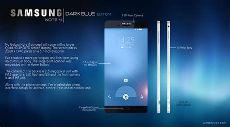 samsung galaxy note 4 pictures official photos samsung note 4 concept simion popa