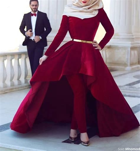 Malika Dress Muslim Set Maroon dress maroon pretty style weheartit muslim berivaniscool