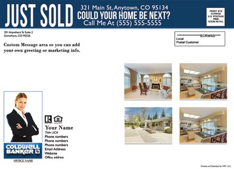 Coldwell Banker Eddm Just Sold Template 2 Cheap Price Just Sold Postcard Templates Free