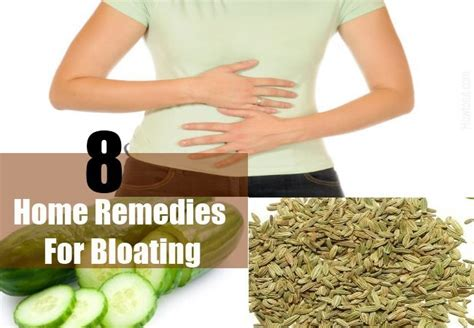 bloating home remedies treatments and cures