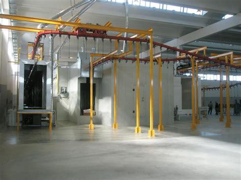 cabine di verniciatura a polvere impianti di verniciatura a polvere nixon system srl