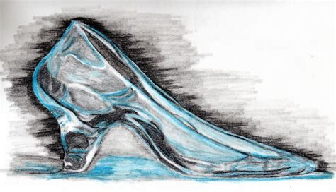 how to draw a glass slipper glass slipper by omagrandmother on deviantart