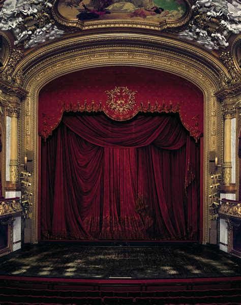 Large Format Photographs Capture Ornate Opera Houses From