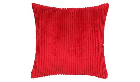 red cusions george home jumbo cord cushion 50x50cm red home